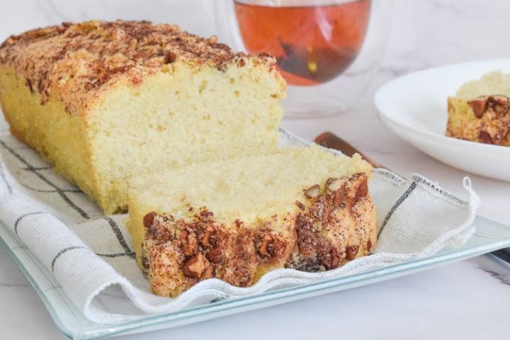 עוגת פקאן וקינמון בחושה. צילום: ספיר דהן